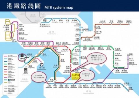 香港路線図