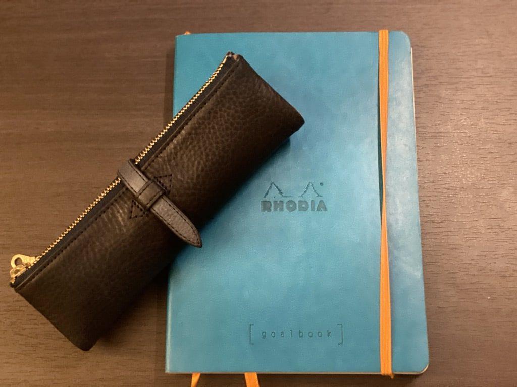 ルポペンケースとロディアのノート
